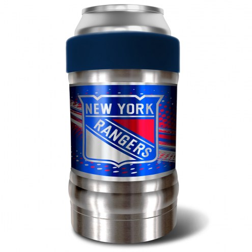 New York Rangers Blue 12 oz. Locker Vacuum Insulated Can Holder