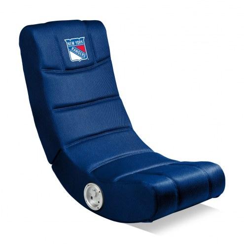 New York Rangers Bluetooth Gaming Chair
