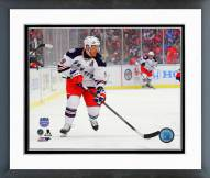 New York Rangers Brad Richards NHL Stadium Series Framed Photo