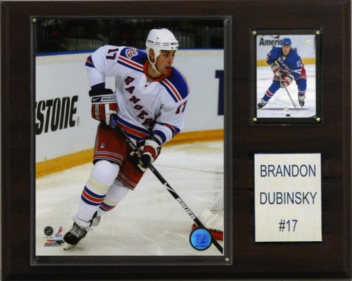 "New York Rangers Brandon Dubinsky 12"" x 15"" Player Plaque"