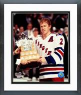 New York Rangers Brian Leetch 1994 Conn Smythe Trophy Winner Framed Photo