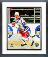 New York Rangers Brian Leetch Action Framed Photo