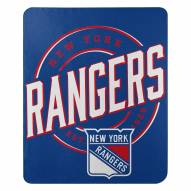 New York Rangers Campaign Fleece Throw Blanket