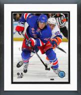 New York Rangers Carl Hagelin Action Framed Photo