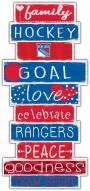 New York Rangers Celebrations Stack Sign