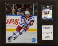 "New York Rangers Chris Drury 12"" x 15"" Player Plaque"