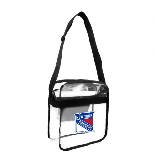 New York Rangers Clear Crossbody Carry-All Bag