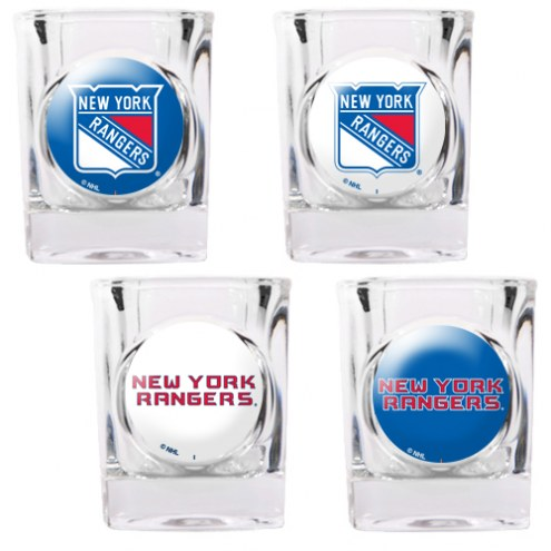 New York Rangers Collector's Shot Glass Set