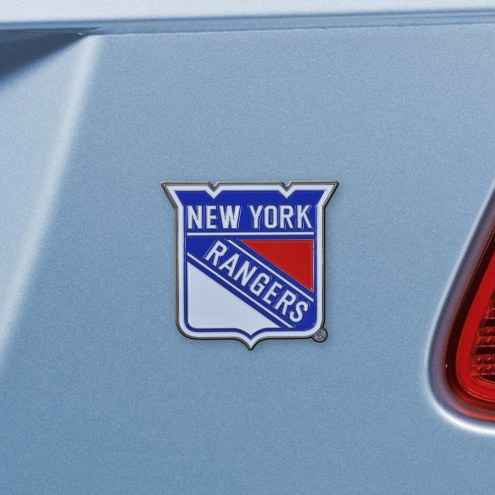 New York Rangers Color Car Emblem