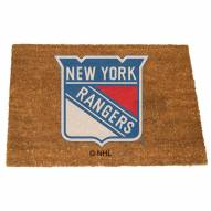 New York Rangers Colored Logo Door Mat