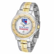 New York Rangers Competitor Two-Tone Men's Watch