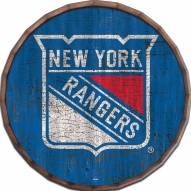 "New York Rangers Cracked Color 16"" Barrel Top"