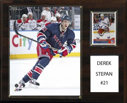 "New York Rangers Derek Stepan 12"" x 15"" Player Plaque"