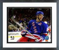 New York Rangers Derek Stepan Action Framed Photo