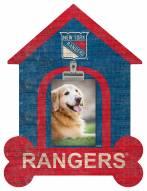 New York Rangers Dog Bone House Clip Frame