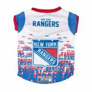 New York Rangers Dog Performance Tee