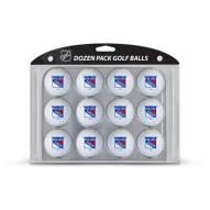 New York Rangers Dozen Golf Balls