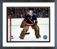 New York Rangers Ed Giacomin Action Framed Photo