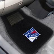 New York Rangers Embroidered Car Mats