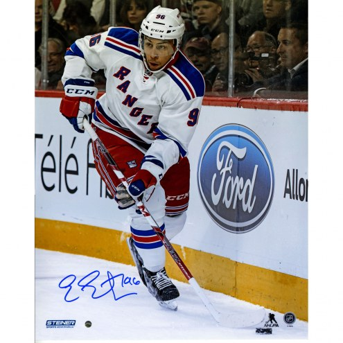 "New York Rangers Emerson Etem Signed 16"" x 20"" Photo"