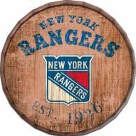 "New York Rangers Established Date 16"" Barrel Top"