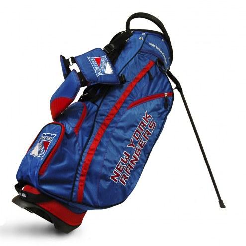 New York Rangers Fairway Golf Carry Bag