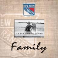 New York Rangers Family Picture Frame