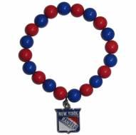 New York Rangers Fan Bead Bracelet