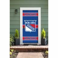 New York Rangers Front Door Cover