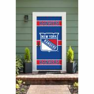 New York Rangers Front Door Cover