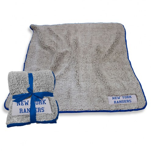 New York Rangers Frosty Fleece Blanket