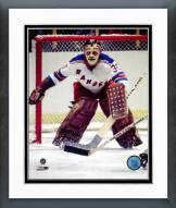 New York Rangers Gilles Villemure Action Framed Photo