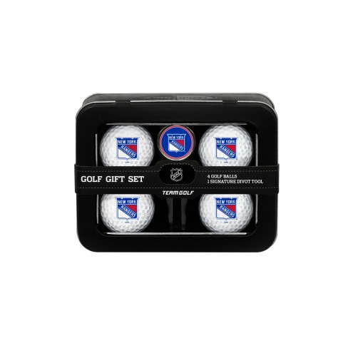 New York Rangers Golf Ball & Divot Tool Gift Set