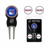 New York Rangers Golf Divot Tool Pack