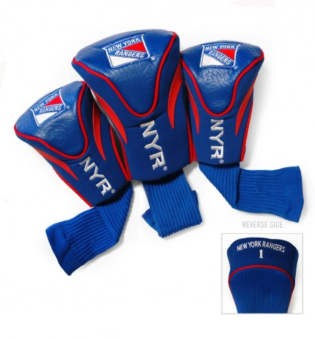 New York Rangers Golf Headcovers - 3 Pack