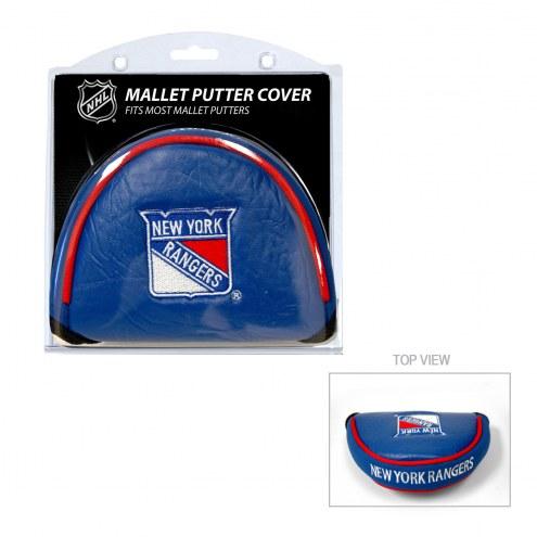 New York Rangers Golf Mallet Putter Cover