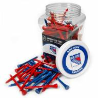 New York Rangers 175 Golf Tee Jar