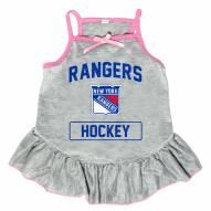 New York Rangers Gray Dog Dress