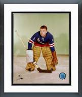New York Rangers Gump Worsley Posed Framed Photo
