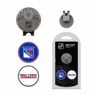 New York Rangers Hat Clip & Marker Set