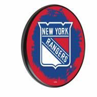 New York Rangers Digitally Printed Wood Sign