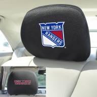 New York Rangers Headrest Covers