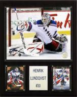 "New York Rangers Henrik Lundqvist 12"" x 15"" Player Plaque"
