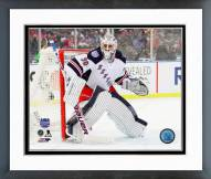 New York Rangers Henrik Lundqvist NHL Stadium Series Framed Photo