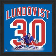 New York Rangers Henrik Lundqvist Uniframe Framed Jersey Photo