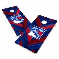 New York Rangers Herringbone Cornhole Game Set