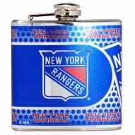 New York Rangers Hi-Def Stainless Steel Flask