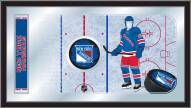 New York Rangers Hockey Rink Mirror