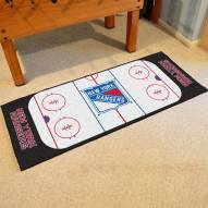 New York Rangers Hockey Rink Runner Mat
