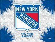 New York Rangers Logo Canvas Print